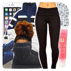 """"""""""" by missy143lol ❤ liked on Polyvore featuring Helly Hansen, Kobelli, UGG Australia and Lancôme"""
