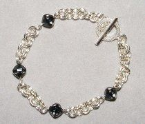 2 in 2 Chain Maille and Bead Bracelet PART 2 OF 2
