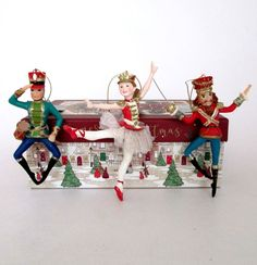 Nutcracker Ballet Soldiers and Ballerina Girl Christmas decorations available now in our Christmas shop, along with other Nutcracker characters Nutcracker Characters, Christmas Decorations, Holiday Decor, Jewel Tones, Christmas Shopping, Clear Glass, Ballerina, Ballet, Ballet Flat