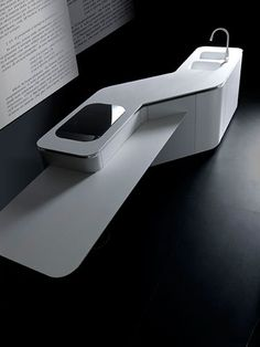 Image result for zaha hadid solid surface kitchen