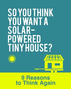 Part of the appeal of tiny houses is the fact that they can enable you to live a more environmentally-friendly and sustainable life. Solar Power Energy, Solar Power System, Building A Tiny House, Tiny House Plans, Best Solar Panels, Tiny House Living, Tiny House Design, Alternative Energy, How To Plan