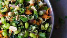 Chopped Thai Salad with Chili Ginger Vinaigrette