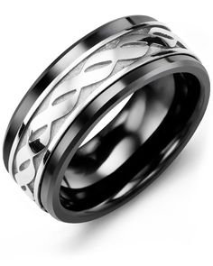 Syolo Life Path Silicone Wedding Rings Bands Mens Women Rings