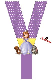 ... Princess Sofia Birthday, Sofia The First Birthday Party, Princess Party, Princesa Sophia, Birthday Letters, Alphabet Design, Note Paper, Minnie, Letters And Numbers