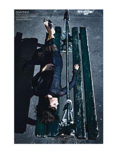visual optimism; fashion editorials, shows, campaigns & more!: paris mon amour: aymeline valade, isabeli fontana, doutzen kroes, kati nescher, arizona muse, suvi koponen, anais mali and nadja bender by mario sorrenti for vogue paris august 2012