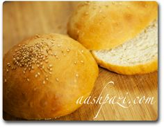 #Fresh #Homemade #Burger #Bun #BurgerBun #Recipe for the #4thOfJuly # https://www.aashpazi.com/burger-bun