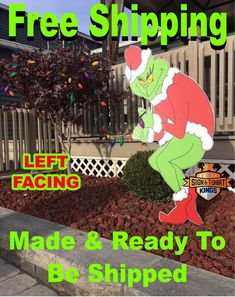 Grinch christmas lights outdoor - rekindle memories for the whole year   Warisan Light…   Grinch ...