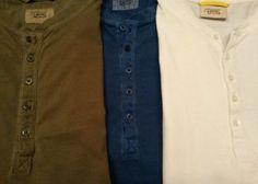 Henley Shirts für Männer