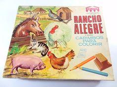 Conjunto de carimbos Rancho Alegre