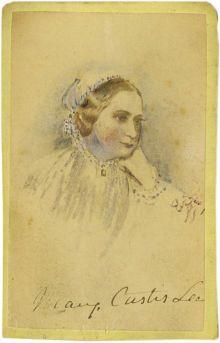 Mrs. Robert E. Lee - Mary Anne Custis