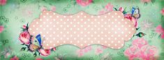 Free Vintage Facebook Timeline Cover and Blog Banner with Matching Button: such a great idea!