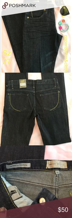 """🆕NWT paperdenim&cloth sz27 low-rise, pegleg jeans NWT👖 paperdenim&cloth Natalie low rise peg leg sz27. Super cute. Darker wash. •32.75"""" Inseam• If you have any questions, please let me know. Priced to sell. Thank you!!!👍😊🙏⭐️🌾🐿🍁🌻 Paper Denim & Cloth Jeans Straight Leg"""
