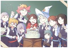 For Akko's birthday 🎂 Some side notes: There is actually no translation spell existing there so…someone picked up a foreign language secretly for her special person hehehe Little Wich Academia, My Little Witch Academia, Art Ideas For Teens, Hogwarts Mystery, Yuri Anime, Animation Series, Special Person, Anime Characters, Pop Culture