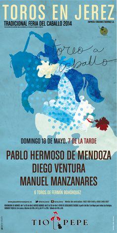 Feria del Caballo. #Jerez2014. Domingo 18 de Mayo. Corrida de Rejones. http://www.servitoro.com/Entradas-Rejones-Jerez-Domingo-18-Mayo.html
