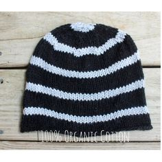 100% Organic Cotton Summer Beanie for tweens, teens and adults!
