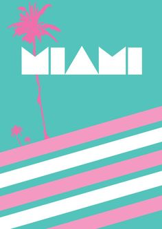 Image result for miami vice green pink living room