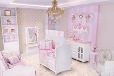 Lindo quarto de menina com o tema bailarina