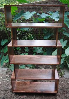 mr2 Custom Mid Century Bookcase Made From Select Pine and Painted To Your Color Choice