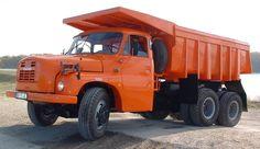 Tatra T148 S1 Dump Trucks, Tow Truck, Old Trucks, Bus, Commercial Vehicle, Classic Trucks, Heavy Equipment, Czech Republic, Motor Car