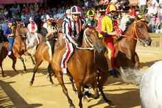 Italy comes alive with August festivals, such as the historic Palio di Siena