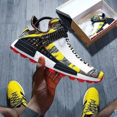☄Adidas X Solar HU NMD.💫Premium Sneaker Support Provided by 📸: Sneakers greatly benefit from shoe trees related to care, preservation, display and travel. Sole Trees makes premium shoe trees for sneakers Sneakers Mode, New Sneakers, Sneakers Fashion, Chunky Sneakers, Addidas Shoes Mens, Adidas Shoes, Nike Mode, Nike Fashion, Mens Fashion