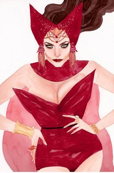 Scarlet Witch by Kevin Wada