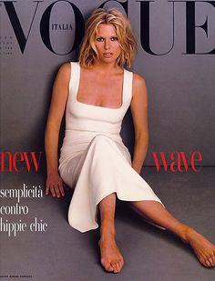 Patti Hansen  - Vogue Italia 1993