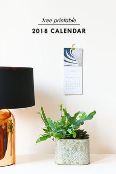 Free 2018 Calendar P