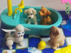 Splash Happy Puppies - vintage kenner littlest pet shop toys on Etsy, $24.00