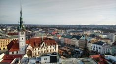 Olomouc Paris Skyline, Travel, Viajes, Destinations, Traveling, Trips, Tourism