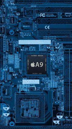 Circuitintel Cpu Motherboard Internals Iphone 6 Wallpaper