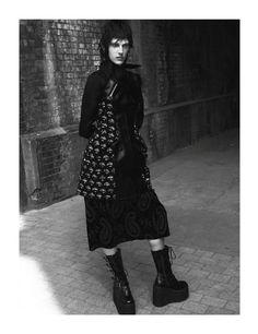 Androgynous Grunge Fashion - The Zoo Magazine 'Everything and Nothing' Editorial Stars Othilia Simon (GALLERY)