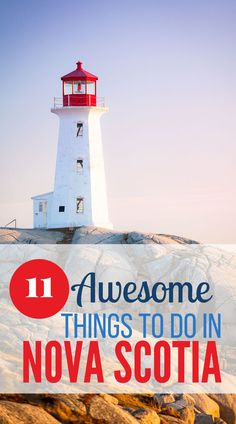 The best things to do in Nova Scotia, Canada! Enjoy the rugged outdoors or cosmopolitan Halifax. Immigration museum, farmer's markets, lighthouses, beaches, and more. #Thingstodoinnovascotia #NovaScotia #halifax