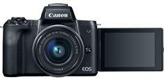 Canon lansează EOS M50 - prima cameră mirrorless care filmează 4K