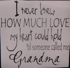 So love being Grandma **