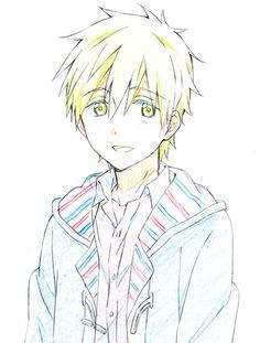 Adopted !! Makoto  . Age 17 . He created the swim team and kinda likes his friend haru .