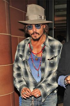 Johnny Depp and Keith Richards - Johnny Depp and Keith Richards Leave C London Restaurant