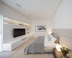 A White & Light-filled Home in Mexico: Domus Aurea by GLR Arquitectos & Alberto Campo Baeza