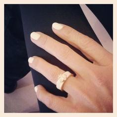 white nails & anchors   #springfever