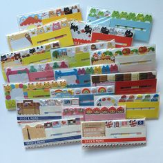 These fun set of sticky notes will surely turn your planner pages from plain to pretty. I love using stickers and sticky notes on my Filofax and Kikki K planners.Each set has:Stick 15sheets x 5designsMemo 15sheets x 1design