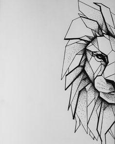 40 super ideas for origami tattoo lion 40 super ideas for origami tattoo lion t&; 40 super ideas for origami tattoo lion 40 super ideas for origami tattoo lion t&; Geometric Lion Tattoo, Geometric Tattoo Design, Geometric Drawing, Tattoo Abstract, Leo Tattoos, Animal Tattoos, Body Art Tattoos, Origami Tattoo, Lion Origami