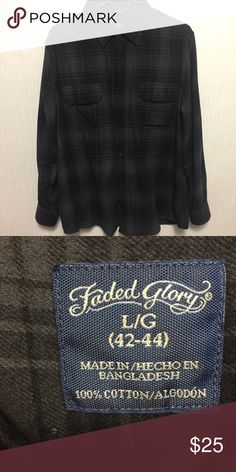 13ab3ec0c995b3 Black flannel size large