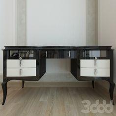 3d модели: Столы - письменный стол LCI Stile Decora