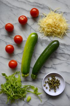 Simple Low-Carb Zucchini Pizza Recipe!