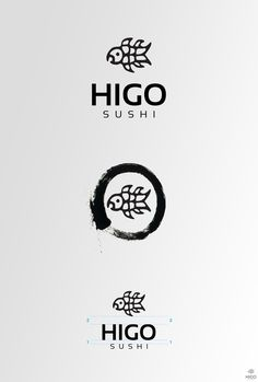 Logo Design Higo Sushi on Branding Served