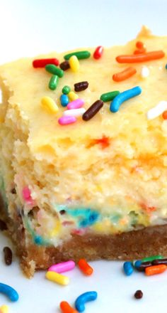 cake batter cheesecake bars more cakes bar cheesecake bars cupcake ...