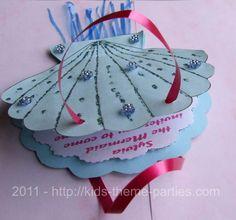 The Little Mermaid Invitation Ideas | Free Little Mermaid Birthday Party Invitations - Website of yararobe!