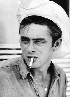 James Dean , must have been a chain smoker , not that sexy