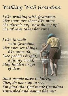 The gift of our grandmother. ..