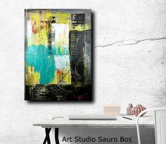 quadri astratti olio su tela